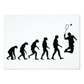 Evolution of Badminton Card
