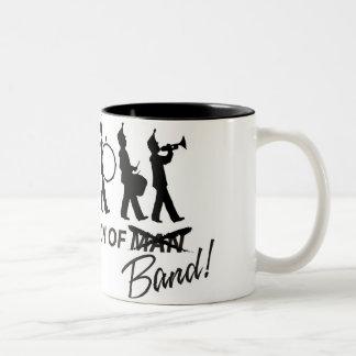 Evolution of Band Two-Tone Coffee Mug