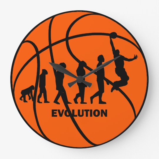 evolution of basketball large clock