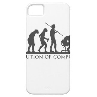 EVOlution OF COMPUTER iPhone 5 Cases