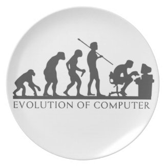 EVOlution OF COMPUTER Plate