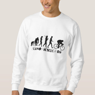 Evolution of Cycling Arty Logo Plano Texas Gear Sweatshirt