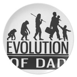 evolution of dad dinner plate