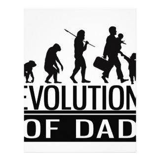 evolution of dad letterhead design