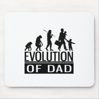 evolution of dad mouse pad