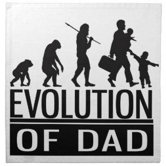 evolution of dad napkin