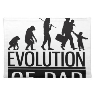 evolution of dad placemat