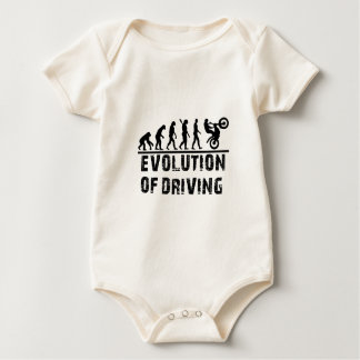 Evolution Of driving Baby Bodysuit
