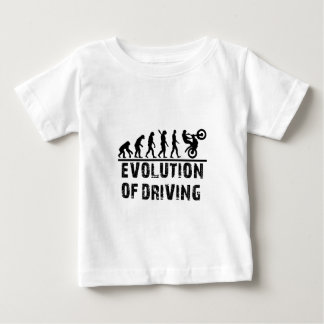 Evolution Of driving Baby T-Shirt