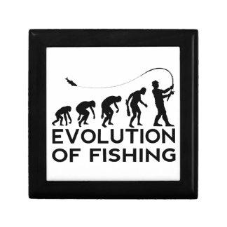 evolution of fishing keepsake box