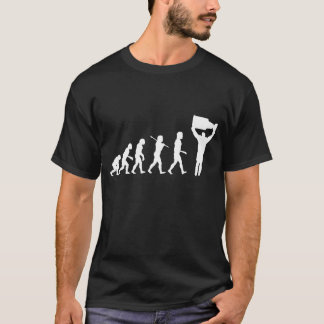 Evolution of Hockey Champ Dark T-Shirt