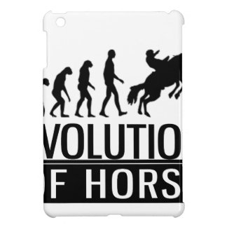 evolution of horse iPad mini cases