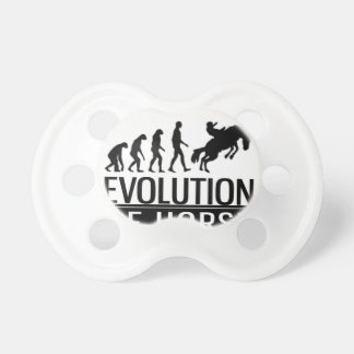 evolution of horse pacifier