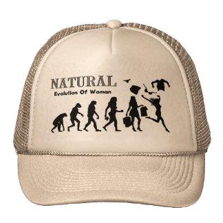 Evolution Of Liberated Woman (Naturist Woman) Trucker Hat