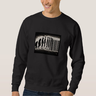 Evolution of Man Design - Mark of The Beast Sweatshirt