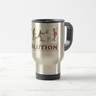 Evolution of Man Revolution of Women ID462 Travel Mug