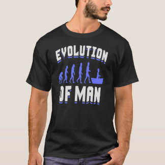 Evolution Of Man - Rowing T Shirt