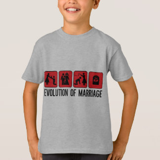 Evolution of Marriage T-Shirt