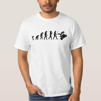 Evolution of moto T-shirt