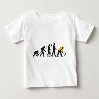 evolution OF one building more worker Baby T-Shirt