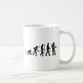 evolution OF one fire more fighter Coffee Mug