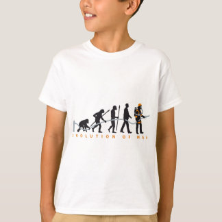 evolution OF one fire more fighter T-Shirt