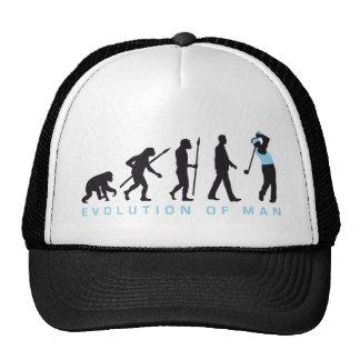 Evolution OF one gulf more player Trucker Hat