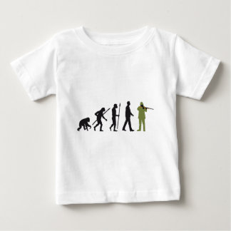 Evolution OF one more hunter Baby T-Shirt