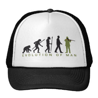Evolution OF one more hunter Trucker Hat