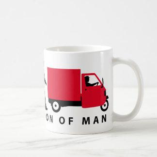 Evolution OF one Piaggio Ape mini transporter Coffee Mug