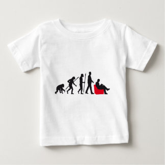 evolution OF one reading A book Baby T-Shirt