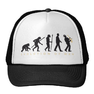 evolution OF one saxophones more player Trucker Hat