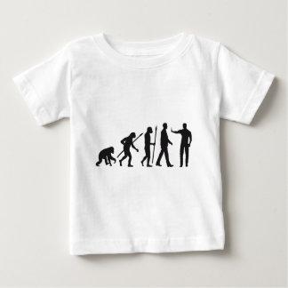 evolution OF one security doorman Baby T-Shirt