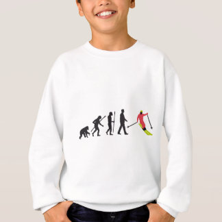 Evolution OF one skiing Sweatshirt
