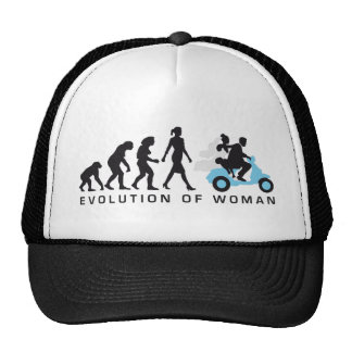 evolution OF one wedding more scooter Trucker Hat