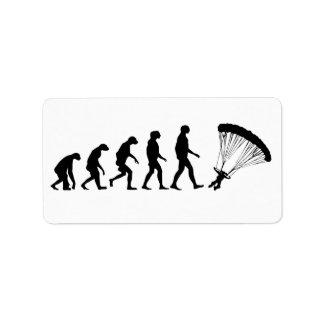 Evolution of Parachuting