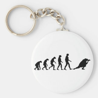 Evolution of Photography Basic Round Button Keychain