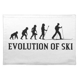 Evolution Of Ski Placemat