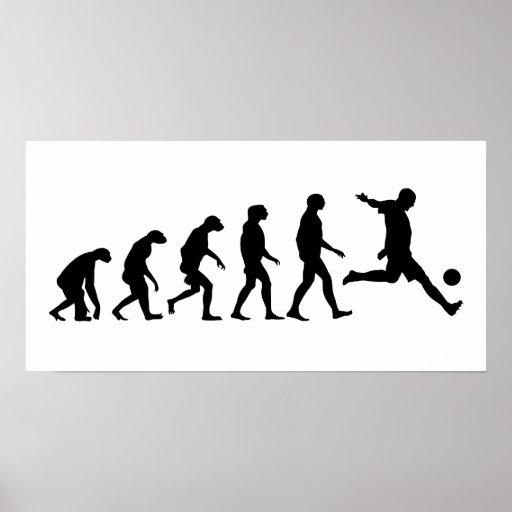 Evolution of Soccer Posters
