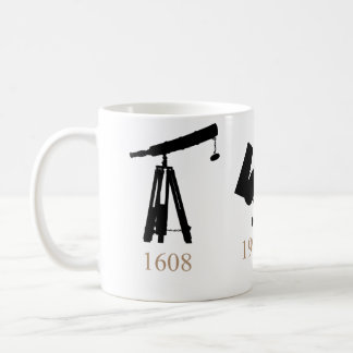 Evolution of Telescopes Mug! Coffee Mug