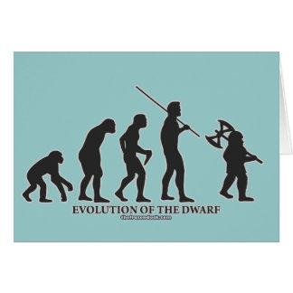 Evolution of the Dwarf Card