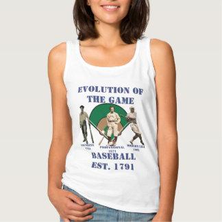 Evolution of the Game--Baseball Tank Top
