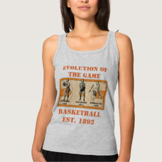 Evolution of the Game--Basketball Tank Top