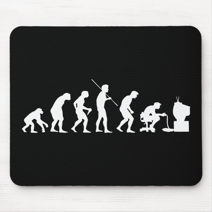 Evolution of Video Games Gaming Gamer Mouse Pad