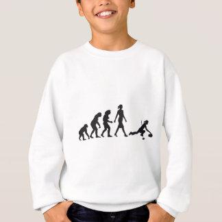 Evolution OF woman curling Sweatshirt