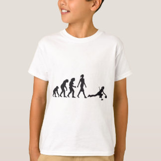 Evolution OF woman curling T-Shirt
