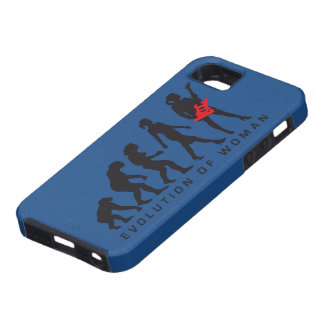evolution OF woman female e-guitar more player iPhone 5 Cases
