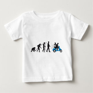 evolution OF woman wedding more scooter Baby T-Shirt