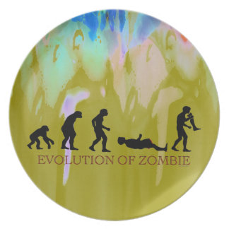 Evolution of Zombie Plates