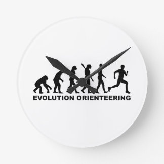 Evolution Orienteering Round Clock